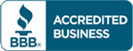 A+ accredited with the Better Business Bureau